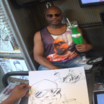 Caricature by Donte Campbell